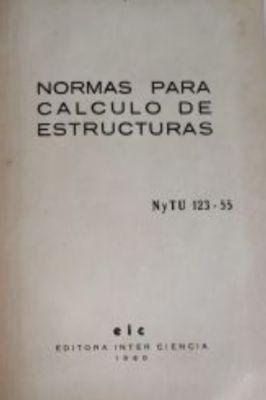 Normas para Calculo de Estructuras