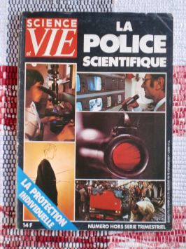 Science et Vie – La Police Scientifique – Septembre 1982