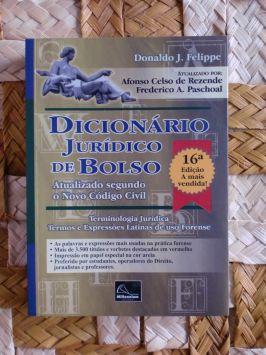Dicionário Jurídico de Bolso