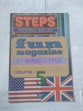 Steps – Volume 5 – Fun Magazine – 1o Bimestre