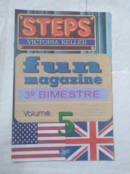 Steps- Volume 5- Fun Magazine- 3o Bimestre- Victoria Keller