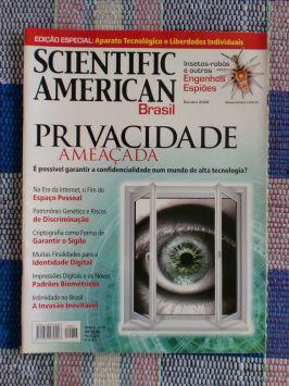 Scientific American Brasil – Nº 77 – Especial o Futuro da Privacidade